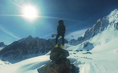 Hohe Seeblaskogel-(3.235m)-umrundung, Sellrain, Lüsens Und Ein Bisschen Mehr … 20.-21.4.2015