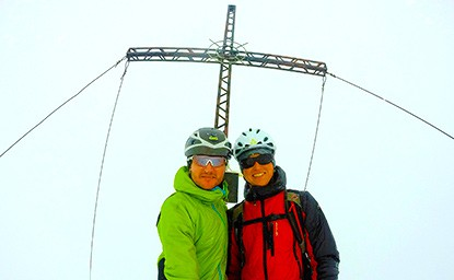 skitour tirol lampsenspitze praxmar sellrain