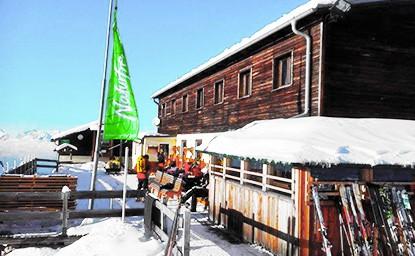 Birgitzköpflhaus (2.037m), Stubaier Alpen, 21.1.2016