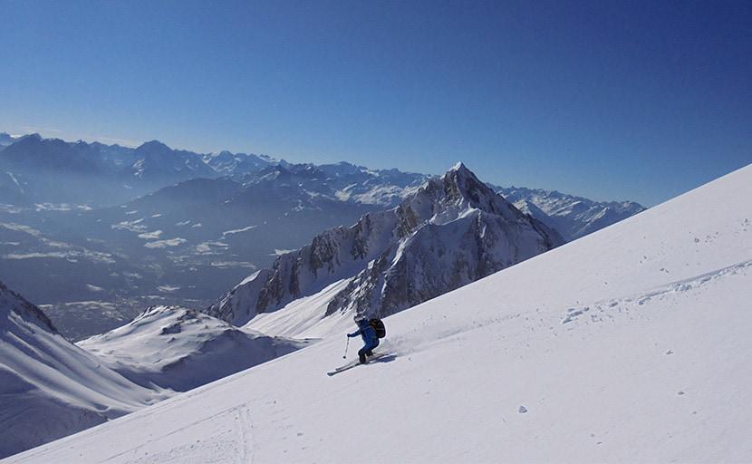 Stempeljochspitze (2.543m), Karwendel, 30.1.2016