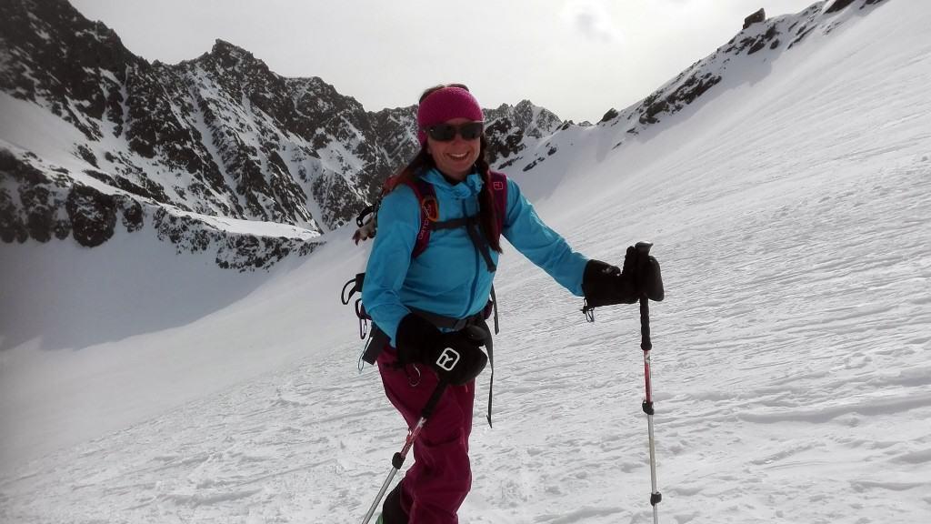 Längentaler Weißer Kogel (3.217m), Stubaier Alpen, 1.4.2016