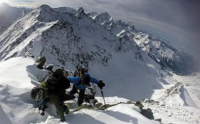 Gaiskogel (2.820m), Kühtai, Stubaier Alpen, 20.11.2016