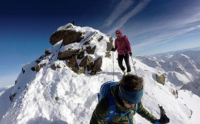 Schaufelspitze (3.333m), Stubaier Gletscher