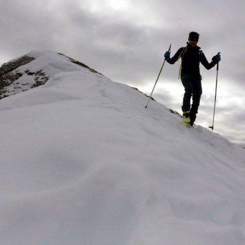 Seefelder Spitze (2.221m), Karwendel, 14.12.2016