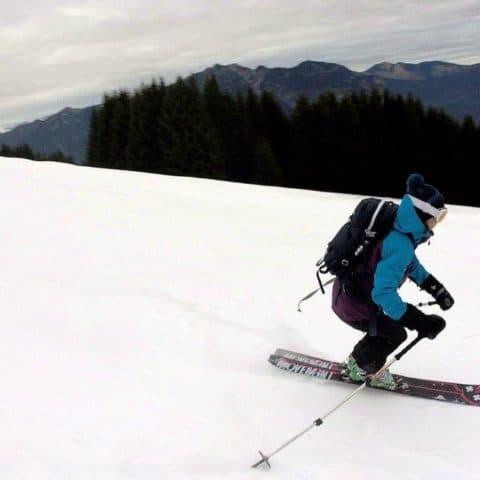 Kreuzeck (1.651m), Wetterstein, 18.12.2016
