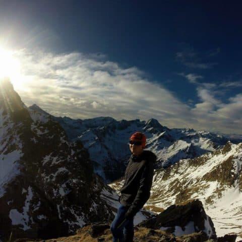 Grieskogelscharte (2.586m), 20.12.2016