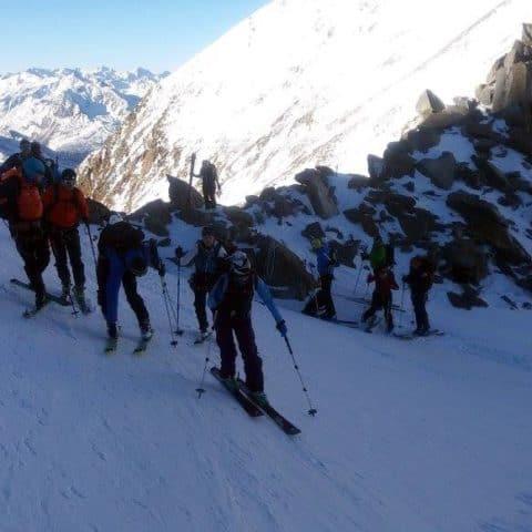 Zuckerhütl (3.507m) Und Wilder Pfaff (3.458m), Stubaier Alpen, 30.12.2016