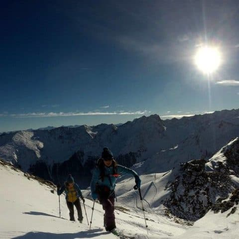 Lampsenspitze (2.875m), Stubaier Alpen, 10.1.2017