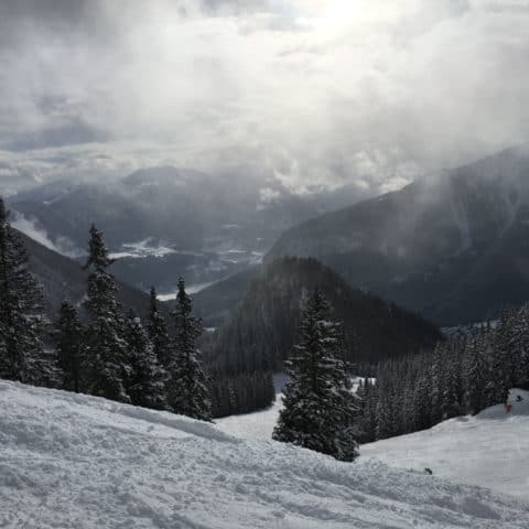 Erfurter Hütte (1.834m), Rofan, 15.1.2017