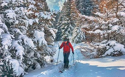 Blaser (2.241m), Stubaier Alpen, 16.1.2017