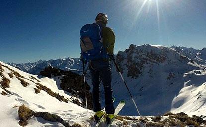 Grafennsspitze (2.619m) – Tuxer Alpen, Wattener Lizum, 26.1.2017
