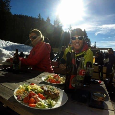 Grünsteinscharte (2.272m), Mieminger Kette, 02.02.2017