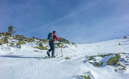 Schartenkogel (2.311m), Tuxer Alpen, 12.2.2017