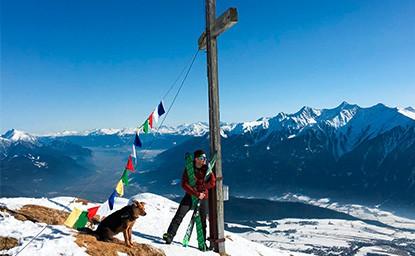 Wankspitze (2.209m), Mieminger Gebirge, 13.2.2017
