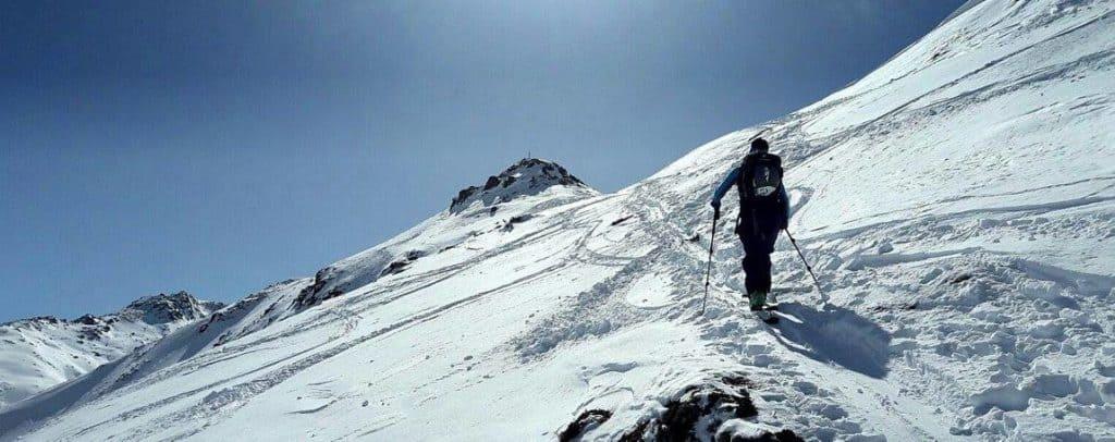 Roßlaufspitze (2.248 M), Tuxer Alpen, 13.3.2017
