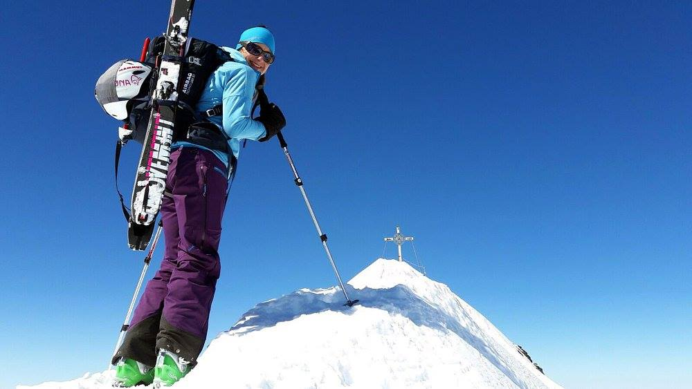 Schrankogel, (3.497m), Stubaier Alpen, 27.3.2017