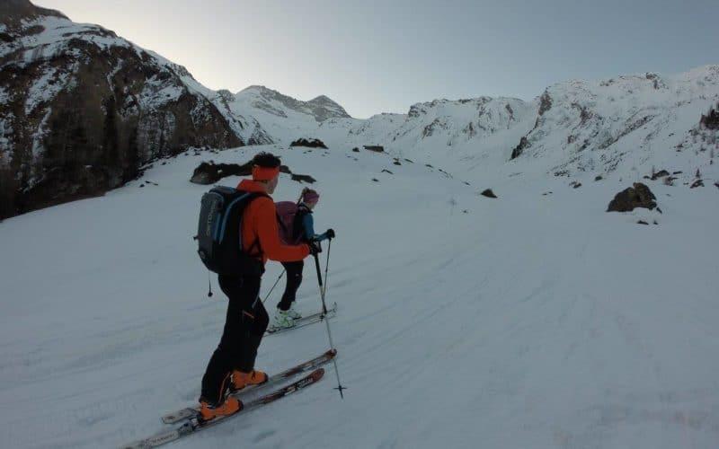 Wildlahnerscharte + Falscher Kaserer (3.220m), 28.3.2017