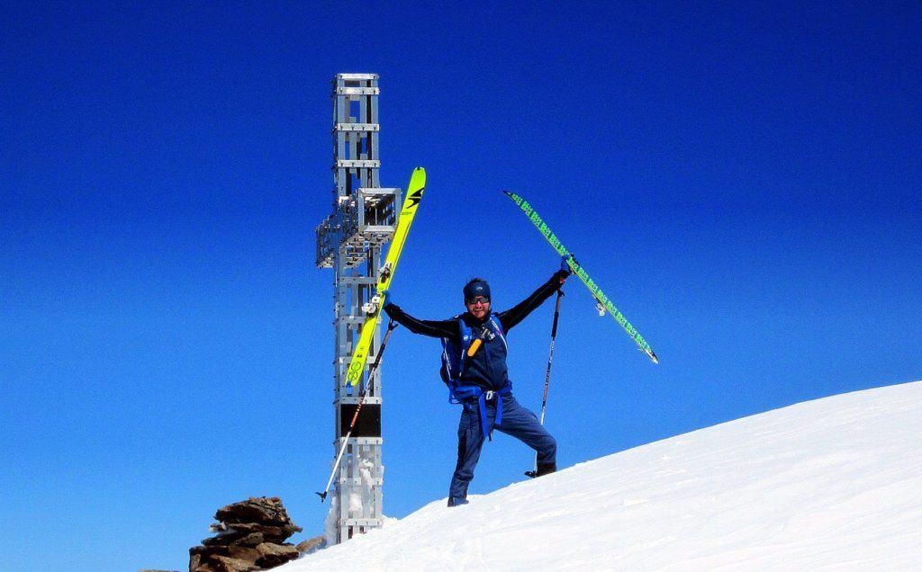 Sonklarspitze (3.467m), Stubaier Alpen, Ende Mai 2017