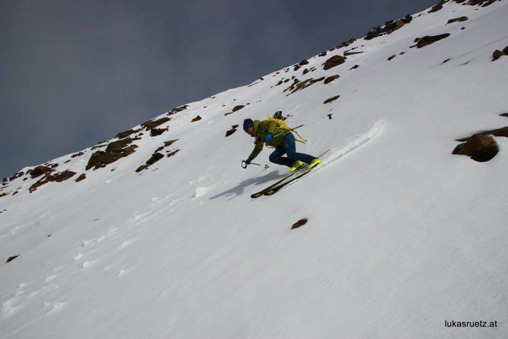 Ein Erstes Schneetreffen Am Stubaier Gletscher, 28.9.2017
