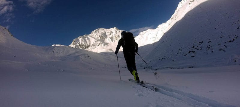 Hinterer Daunkopf (3.225m), Stubaier Alpen, 14.11.2017