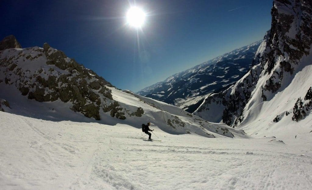 Hintere Goinger Halt (2.195m), Wilder Kaiser 15.2.2017