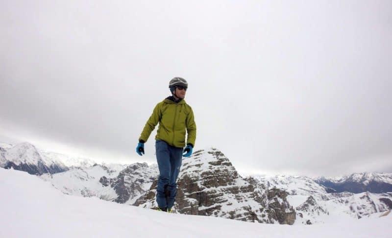 Ampferstein (2.556 M), Stubaier Alpen, 6.5.2017