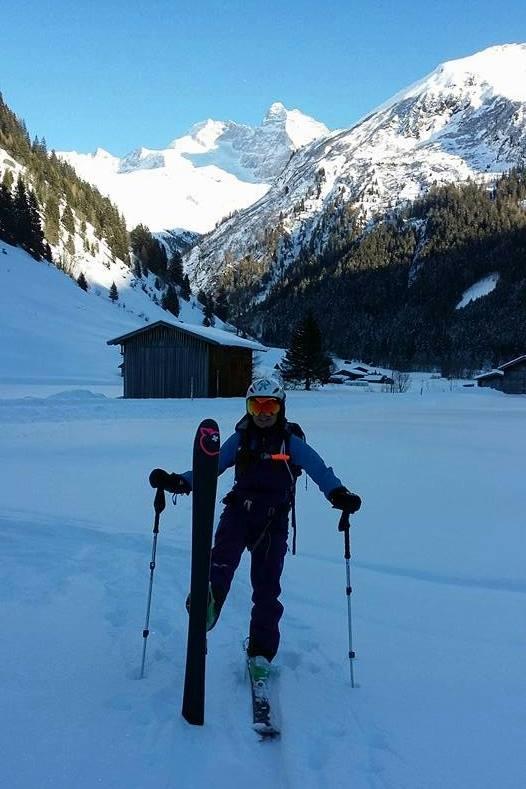 Sumpfschartl (2.666m), Tuxer Alpen, 07.12.2017
