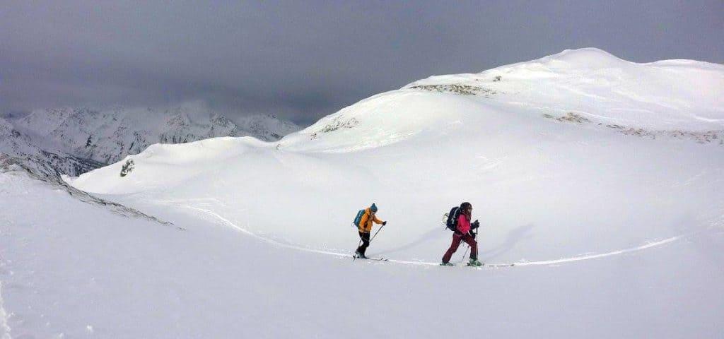 Grafennsspitze (2.619m) – Tuxer Alpen, Wattener Lizum, 10.12.2017