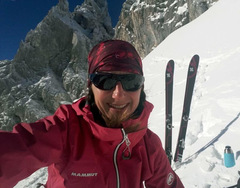Grünsteinscharte (2.272m), Mieminger Kette, 24.12.2017