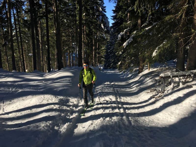 Nonsjöchl (2.112m), Tuxer Alpen, 24.12.2017