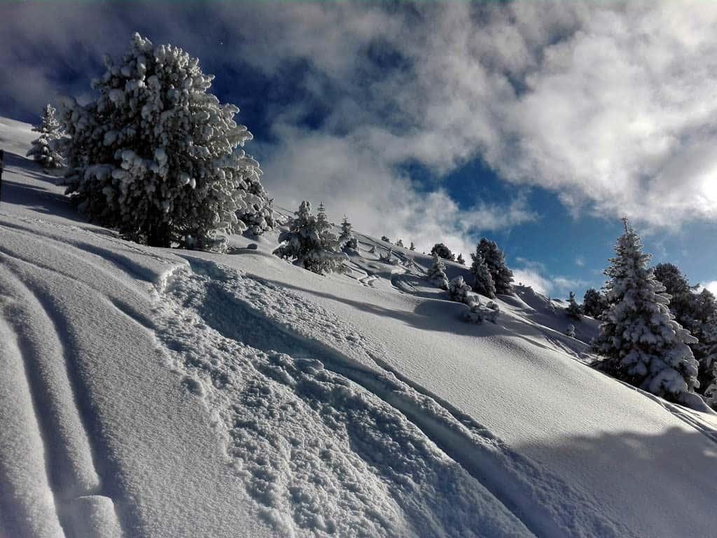Axamer Kögele (2.104m), Stubaier Alpen, 20.12.2017