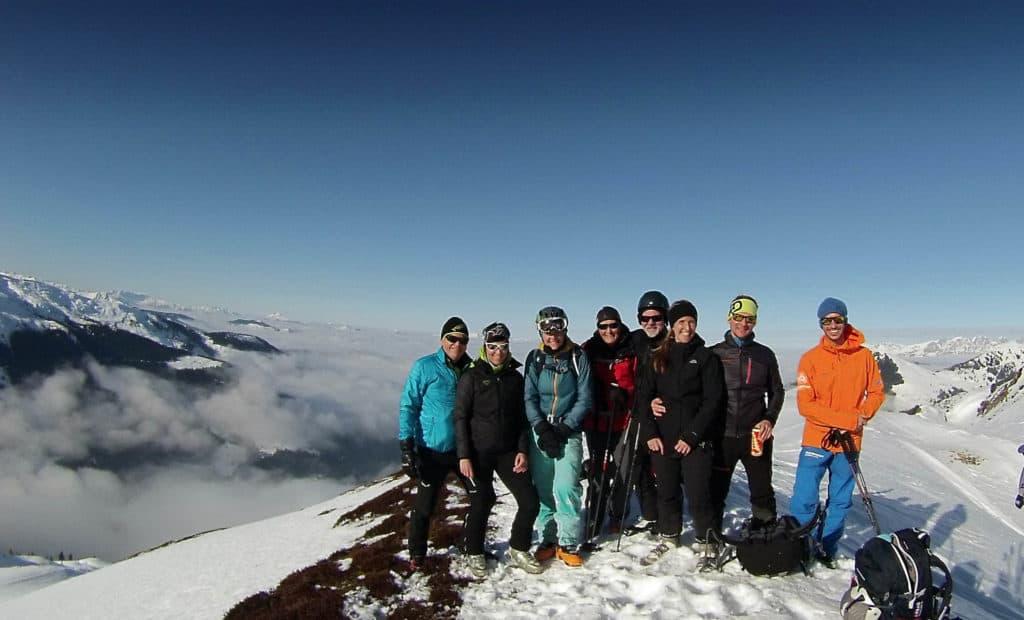 Gerstinger Joch (2.035 M), Windau, Kitzbühler Alpen, 14.1.2018