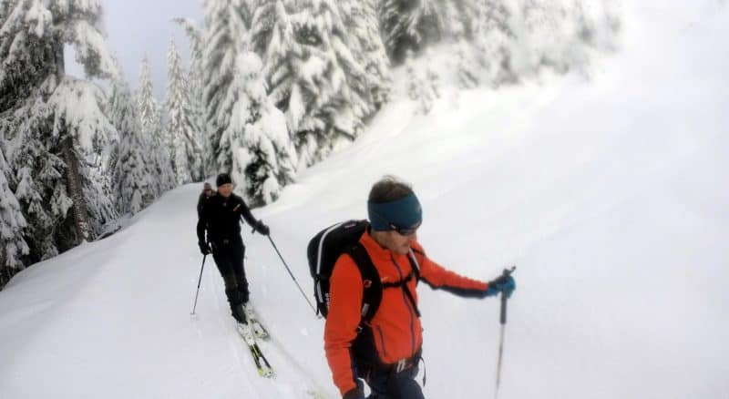 Dorfberg (2.115m), Kartitsch, Osttirol, 10.1.2018