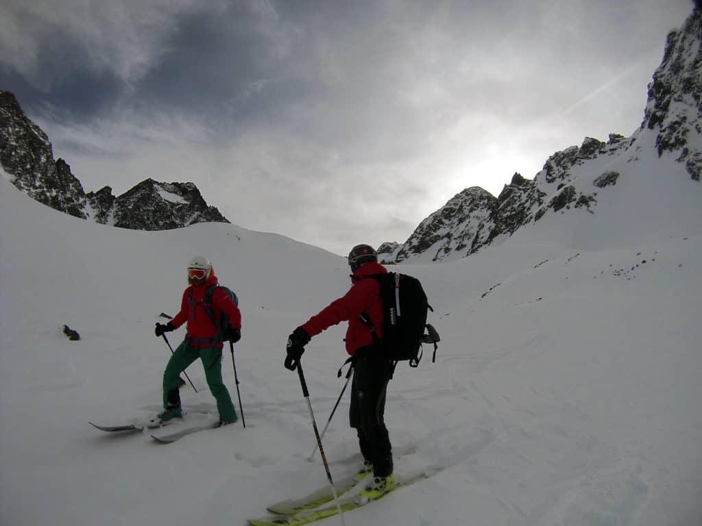 Längentaler Weißer Kogel (3.217m), Stubaier Alpen, 25.1.2018