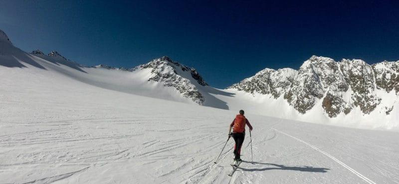 Aglsspitze (3.194m), Pflerschtal, Südtirol, 30.1.2018