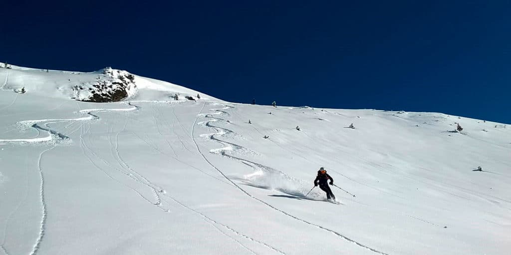 Hirzer (2.725m), Tuxer Alpen, 4.2.2018