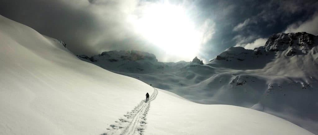 cresta bianca dolomiten