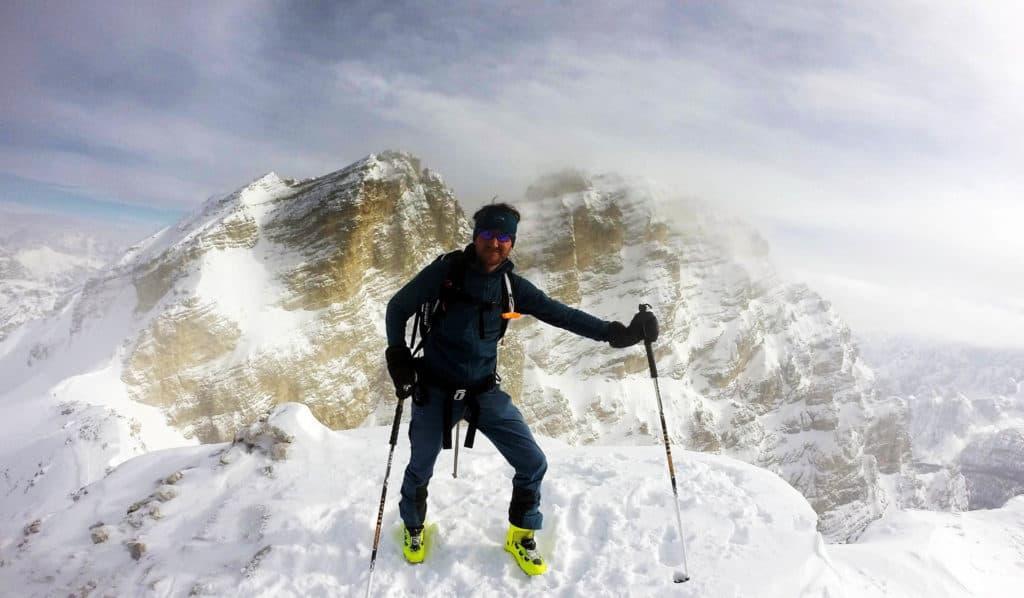 Cresta Bianca (2.932m), Dolomiten