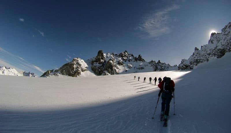 Hintere Jamspitze (3.156 M), Silvretta