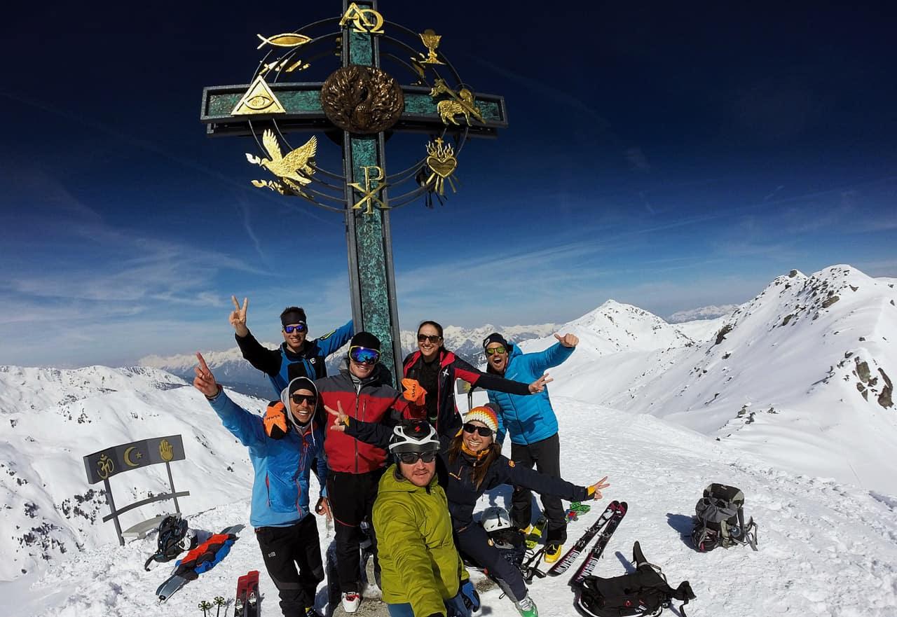 SKITOUREN TIROL › Kleiner Gilfert (2 390m), Nurpenstal