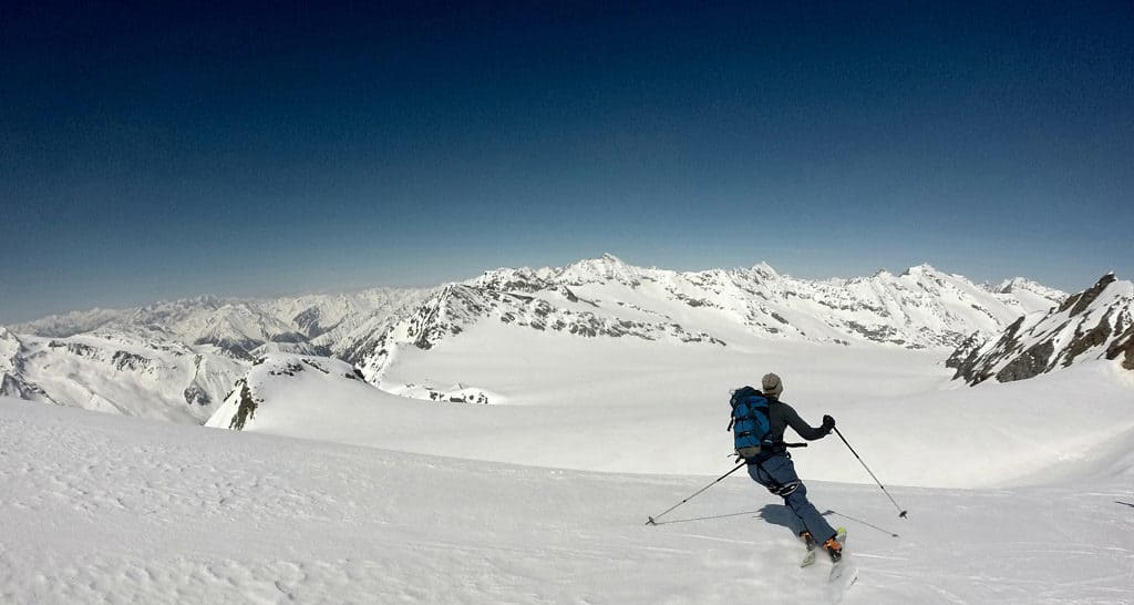 Eiskögele (3.233m), Hochwilde (3.458m), Annakogel (3.333m)