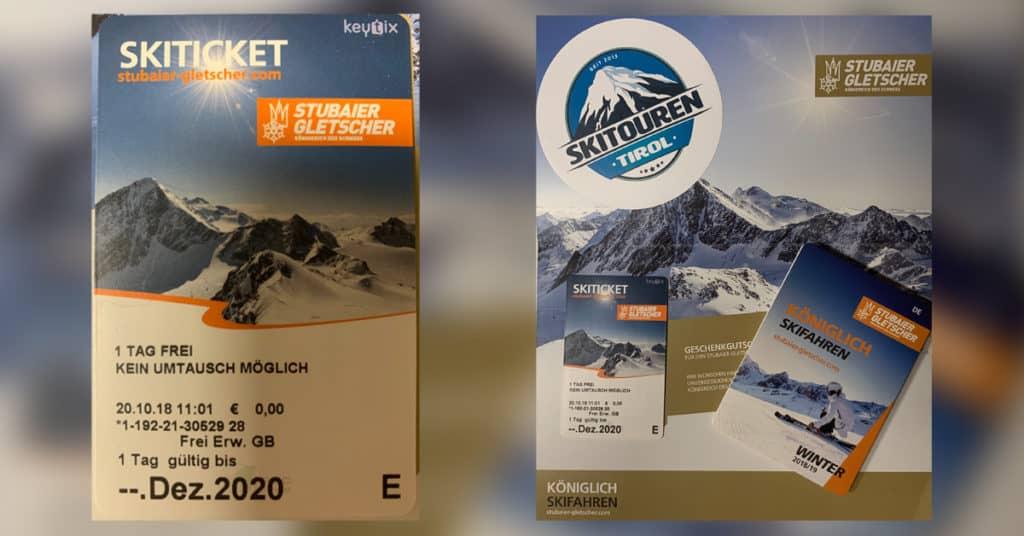 Stubaier Gletscher Gewinnspiel