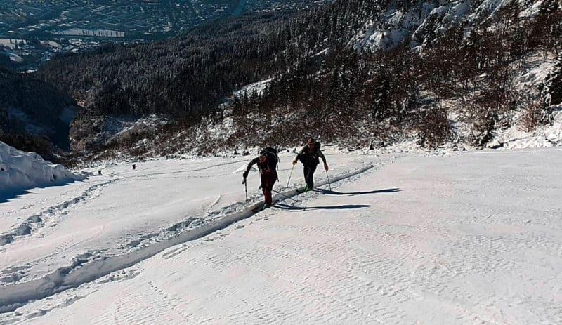 Arzlerscharte (2.158m), Karwendel, 14.12.2018