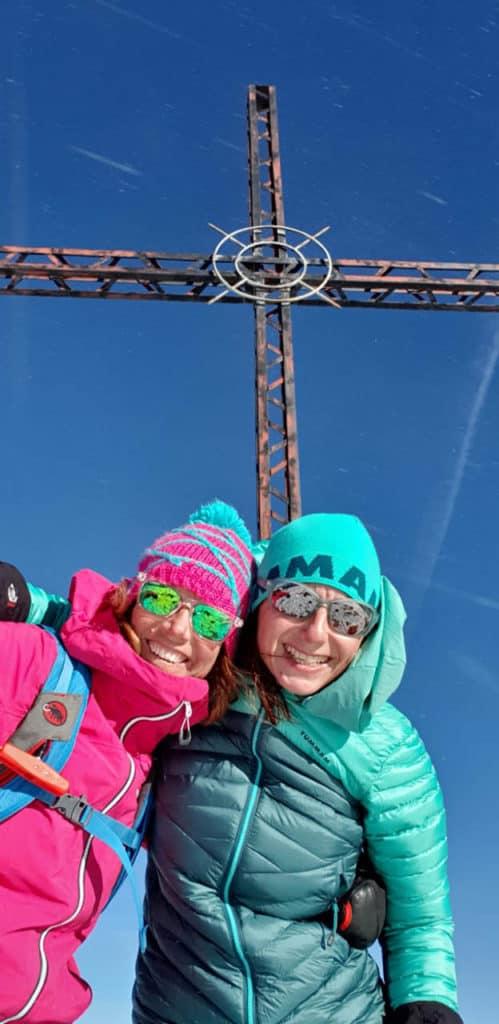 Lampsenspitze (2.875m), Stubaier Alpen, 16.1.2019