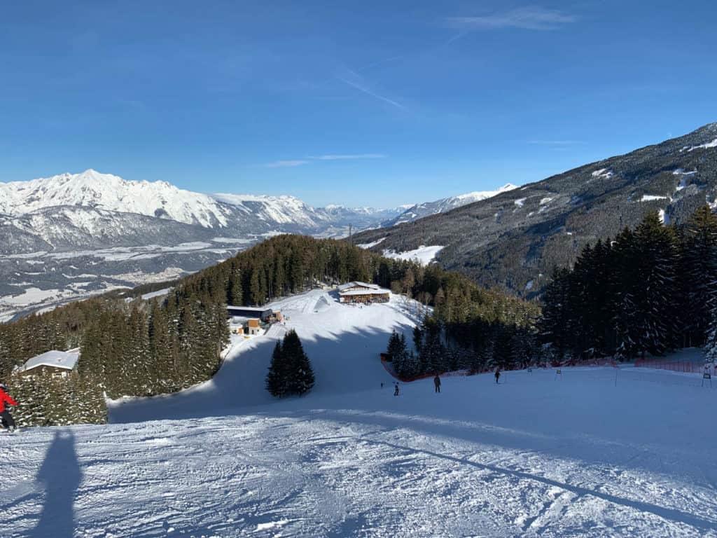 Skitour auf den Schartenkogel am Glungezer
