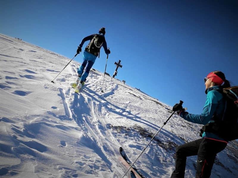 Skitour Tuxer Trilogie: Alpköpfl, Roßlaufspitze, Hoher Kopf