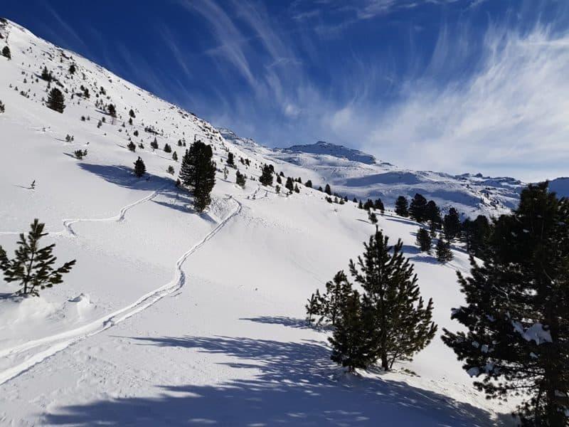 Skitour Seekarspitze, Voldertal, Tuxer Alpen