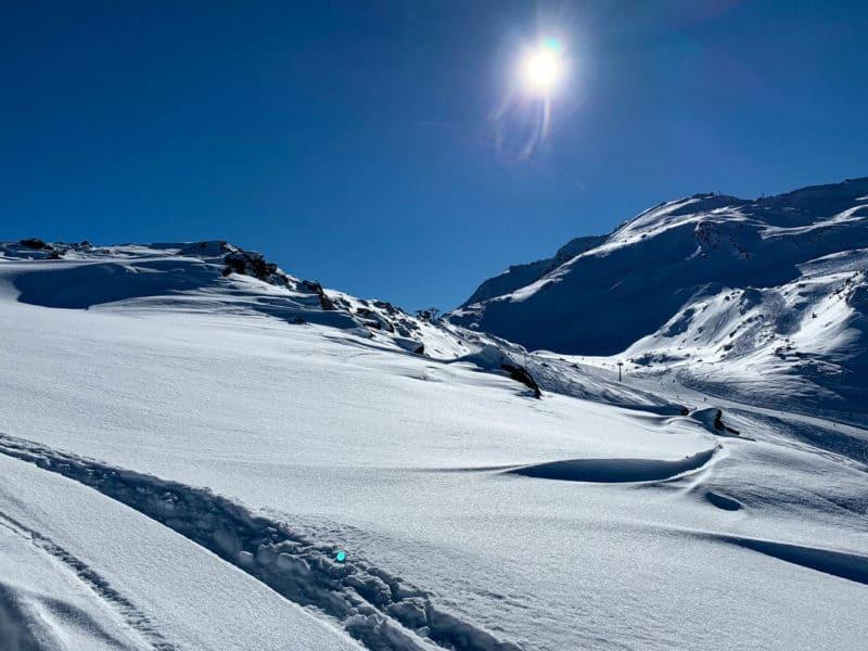 Schartenkogel (2.311m), Tuxer Alpen, 6.2.2019