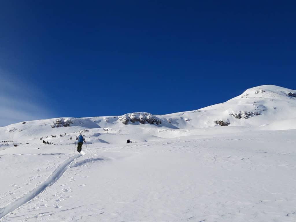 Muttenkopf (2.638m), Stubaier Alpen, 6.2.2019
