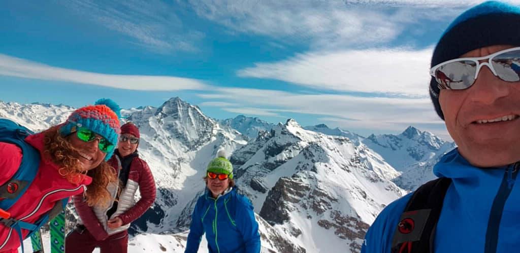 Kesselspitze (2.728m), Stubaier Alpen, 24.2.2019